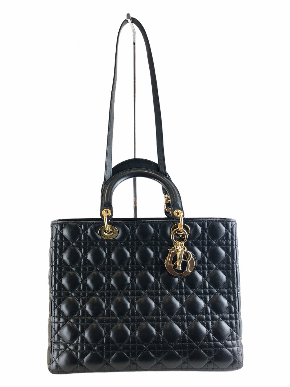Christian Dior Black Leather