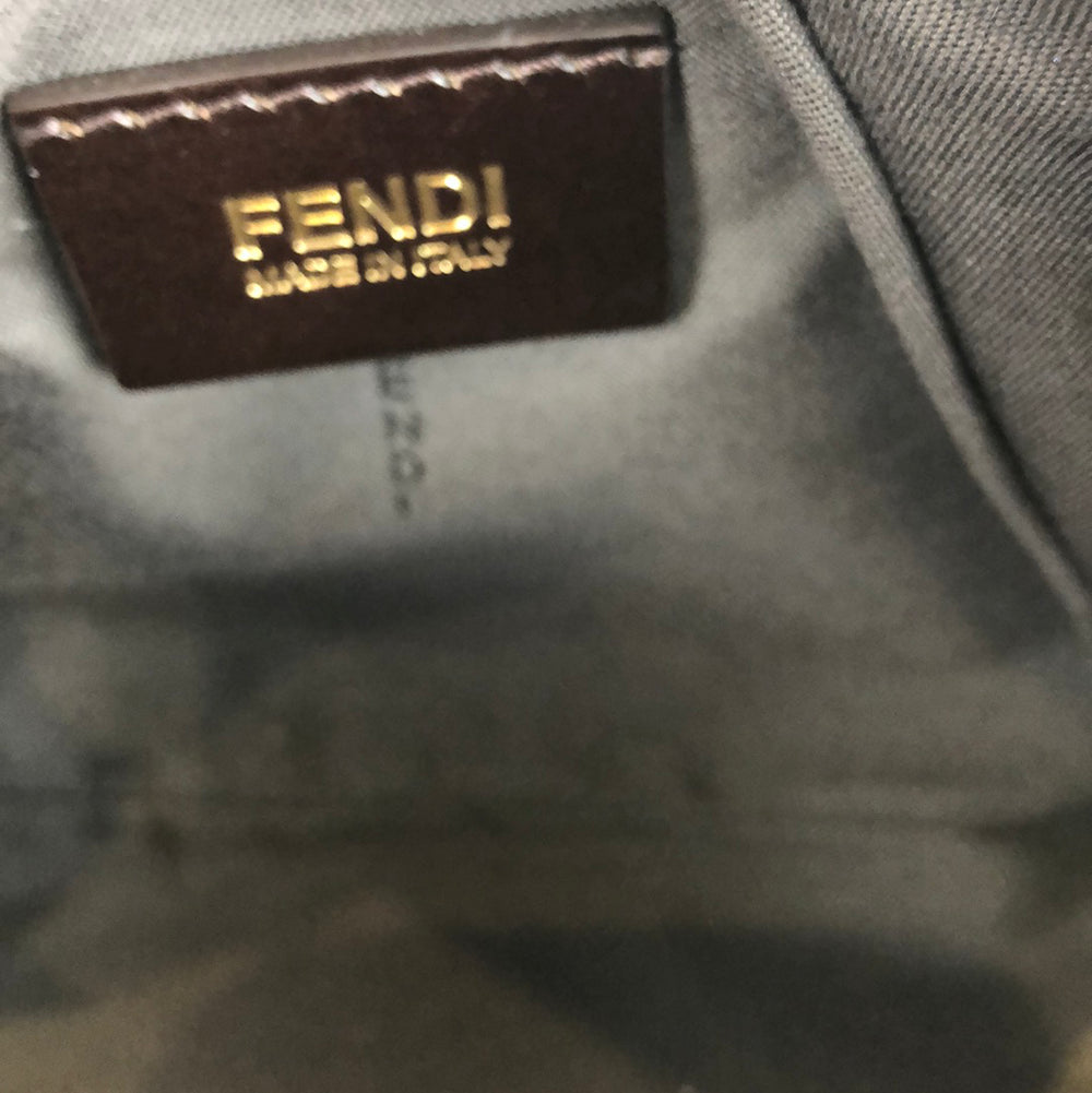 Fendi Red Zucca Canvas Pochette - As Seen on Instagram 11/10/2020