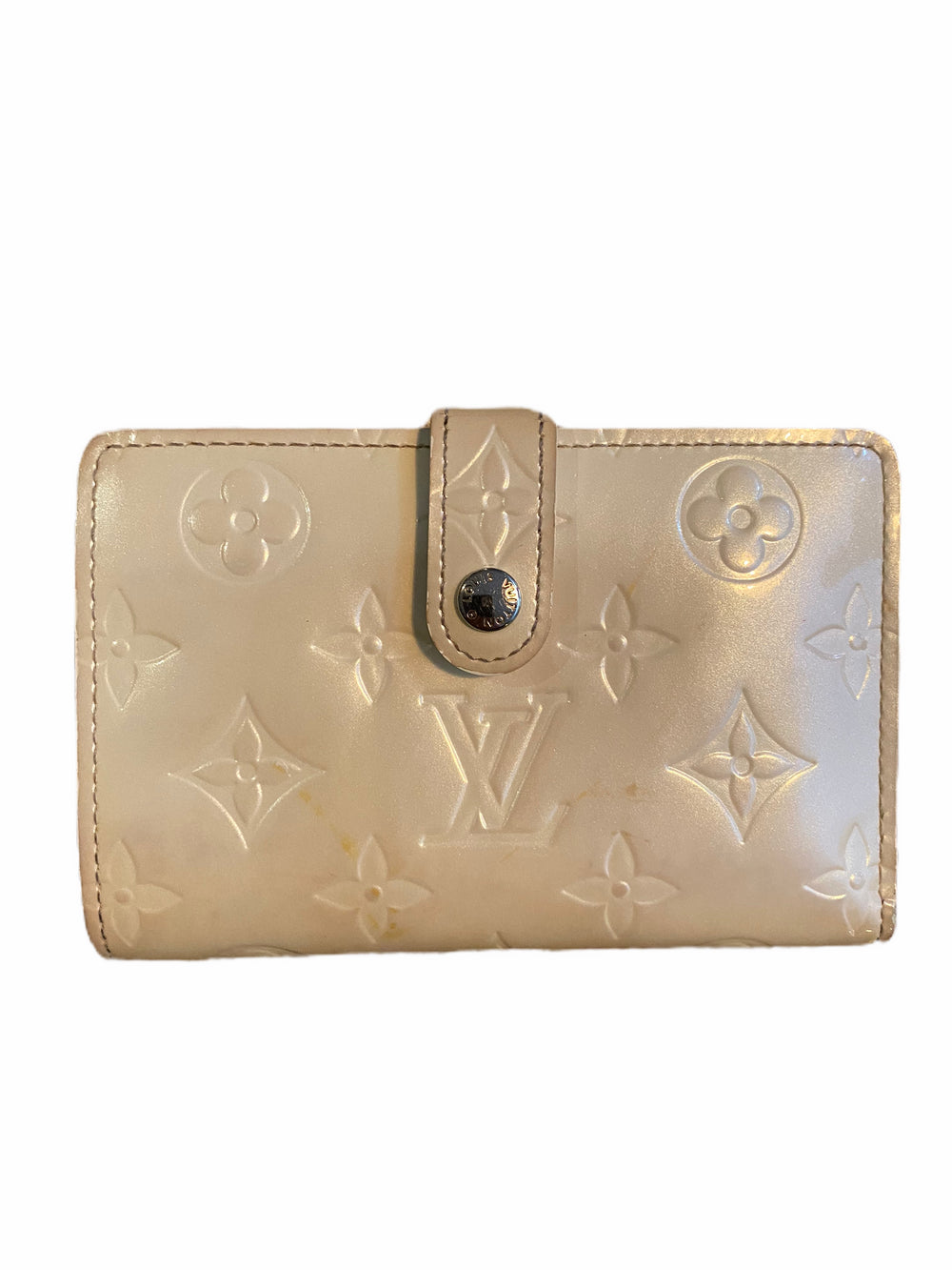 Louis Vuitton Cream Vernis Wallet - As Seen on Instagram