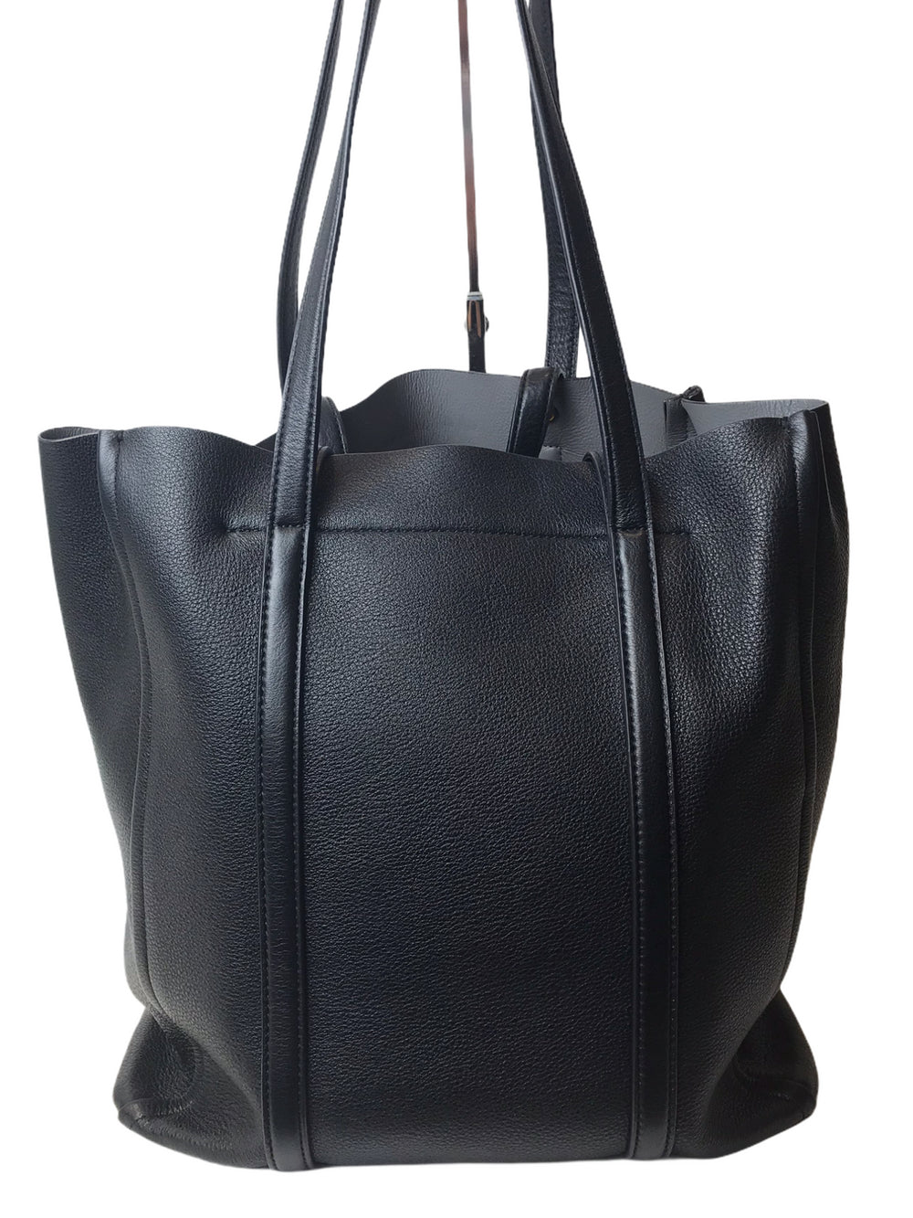 Marc Jacobs Black Pebbled Leather Tote