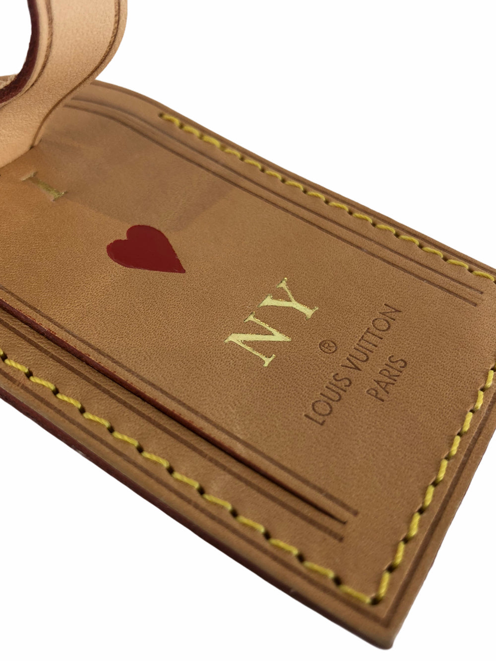Louis Vuitton 'I Heart NY' Luggage Tag  - As Seen on Instagram 27/09/2020