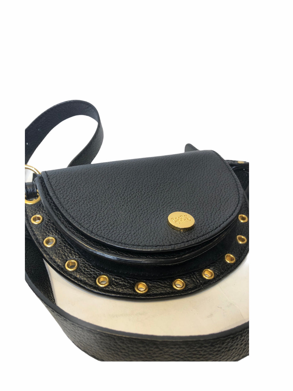 See by Chloe Black Leather Crossbody/Beltbag