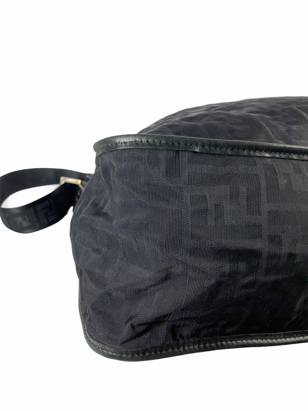 Fendi Black Monogram Canvas Messenger Bag - As Seen On Instagram 06/09/2020