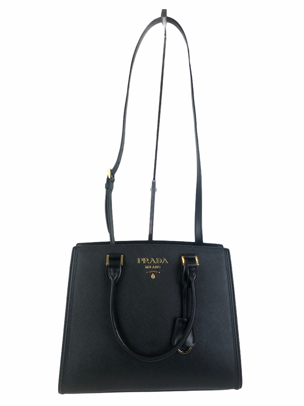 Prada Black Saffiano Leather Tote - As Seen on Instagram 18/10/2020