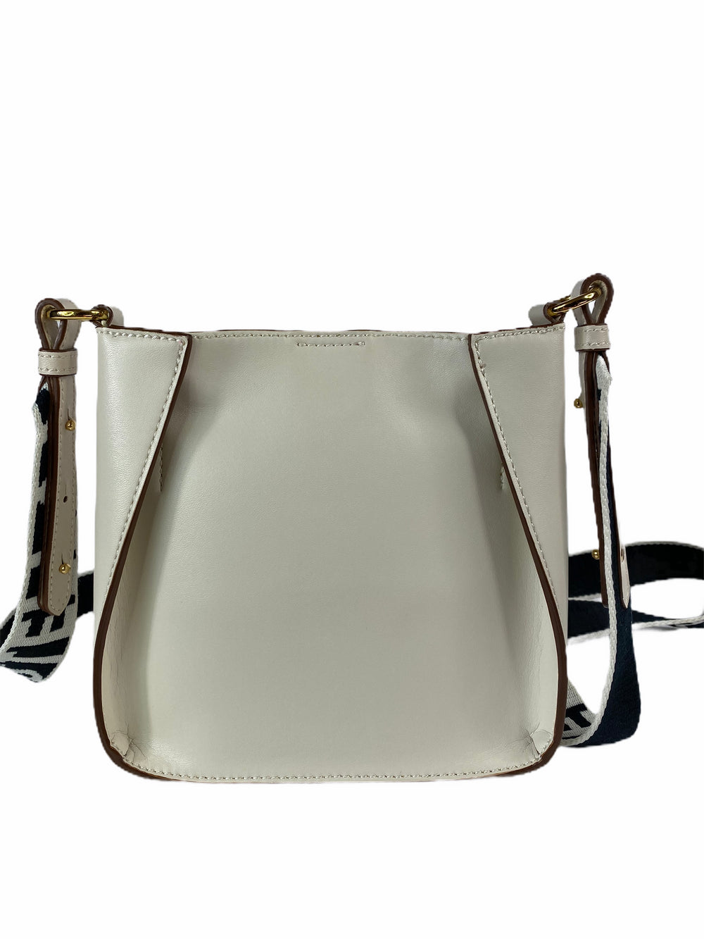 Stella McCartney Cream Faux Leather Crossbody - As Seen on Instagram 26/08/2020