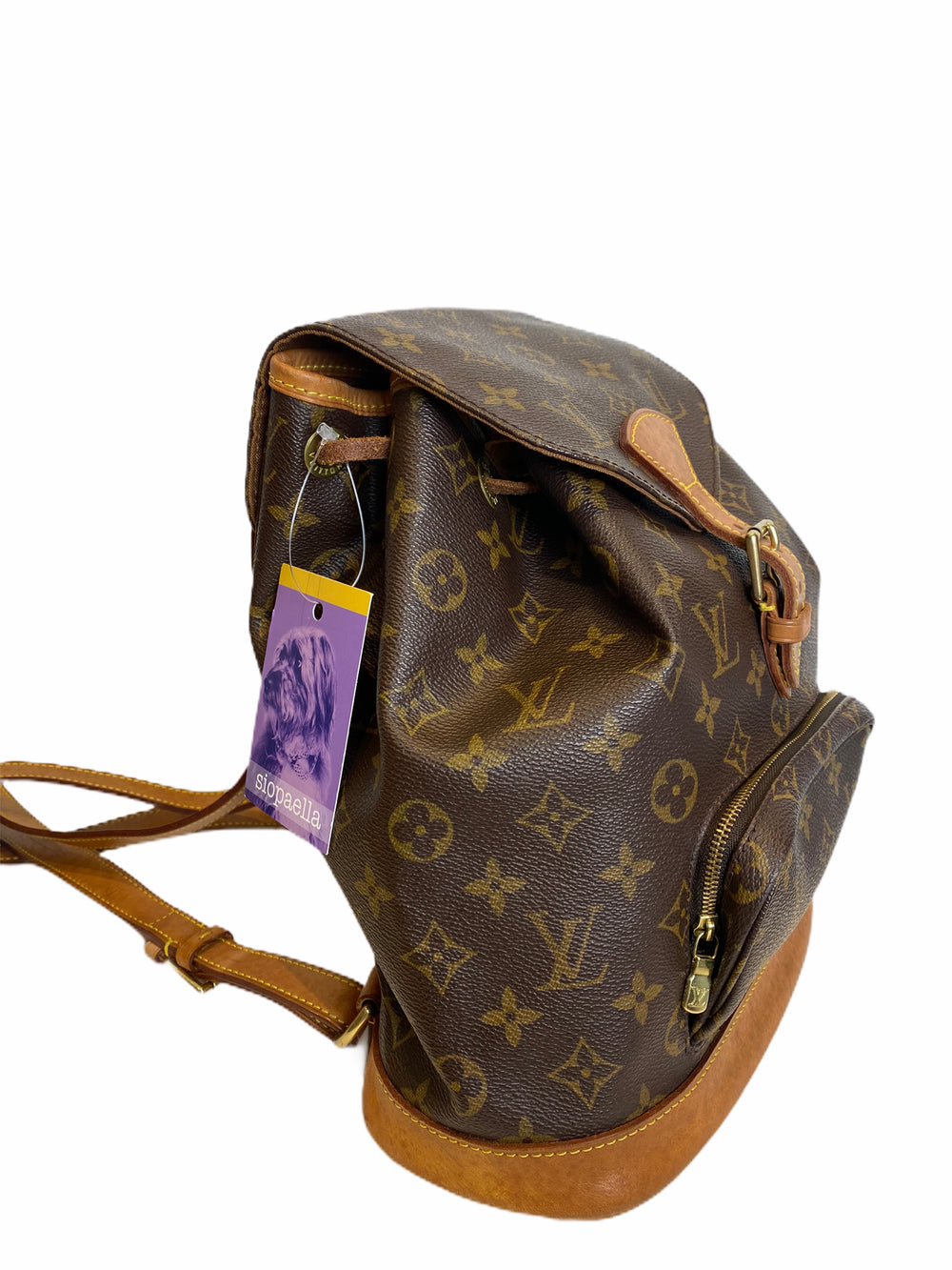 Louis Vuitton Vintage Montsouris Backpack - as seen on Instagram - Siopaella Designer Exchange