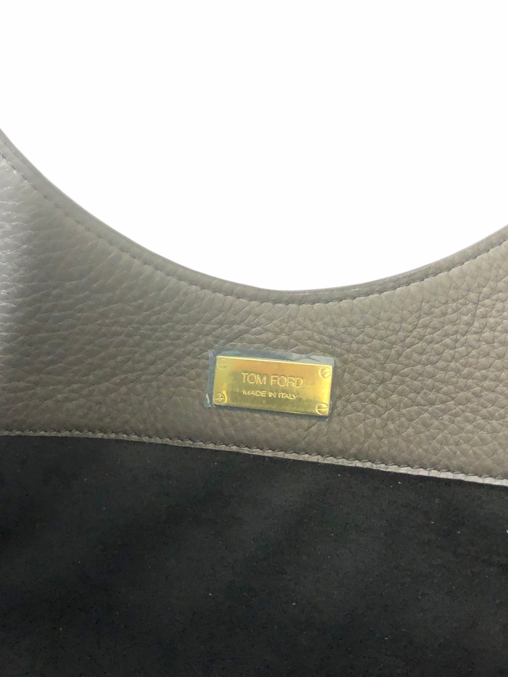 PART PAYMENT ONLY - Tom Ford Grey Leather