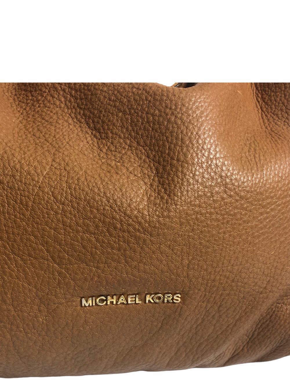 Michael Kors Tan Leather Shoulder Bag - As Seen on Instagram 19/11/20