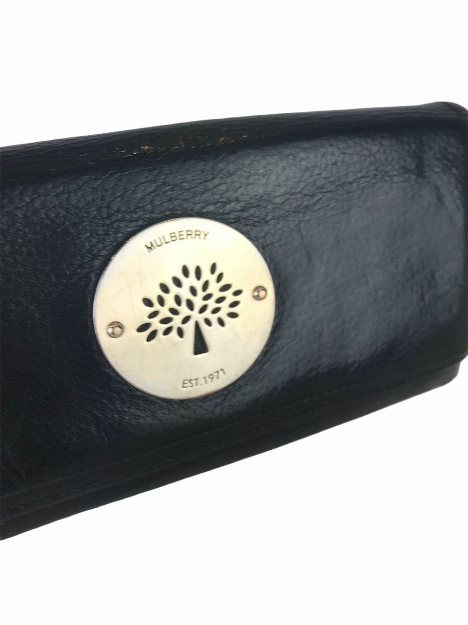 Mulberry Black Leather Wallet  - As Seen On Instagram 09/09/2020