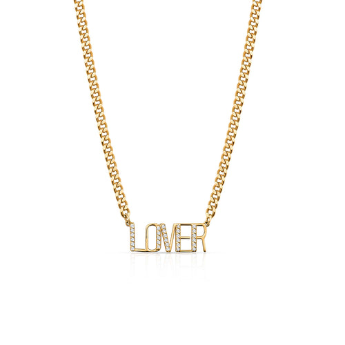 Lover Style Custom Necklace
