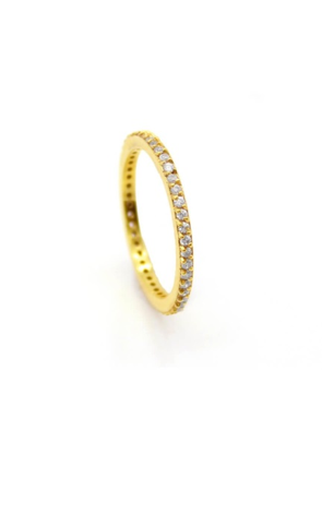 Pavé Slim Ring