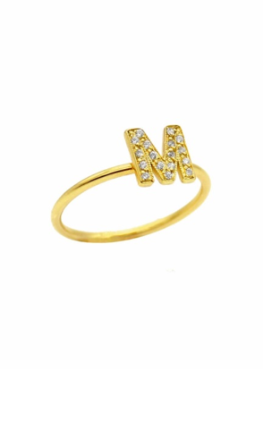Underlined Name Ring