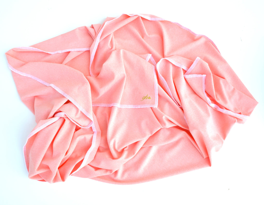 Petal Pink Baby Swaddle