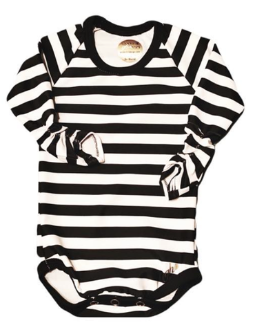 Black & White Stripes Long Sleeve
