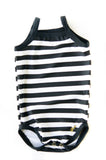Black & White Stripes Skinny Minny