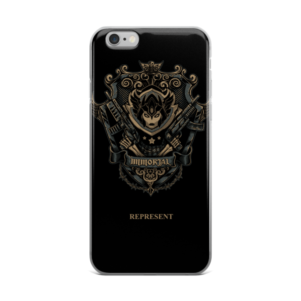 "Divinian ""Represent"" iPhone case"
