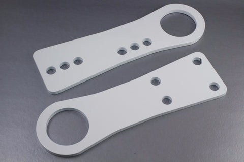 DIYroadster Miata Tow Hook Set - White