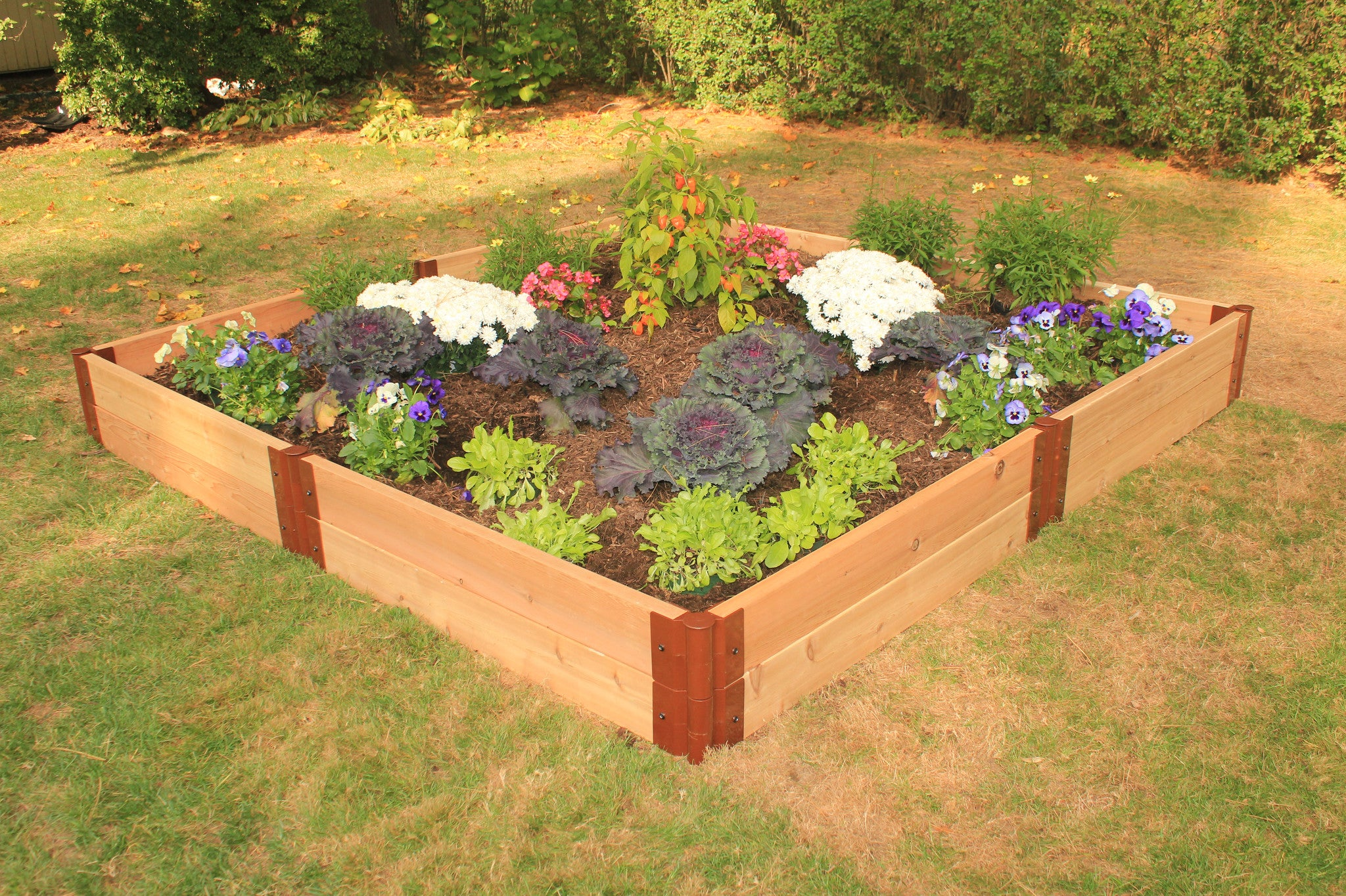 ... Frame It All   Two Inch Series   Modular Cedar Raised Garden Bed Kits Raised  Garden
