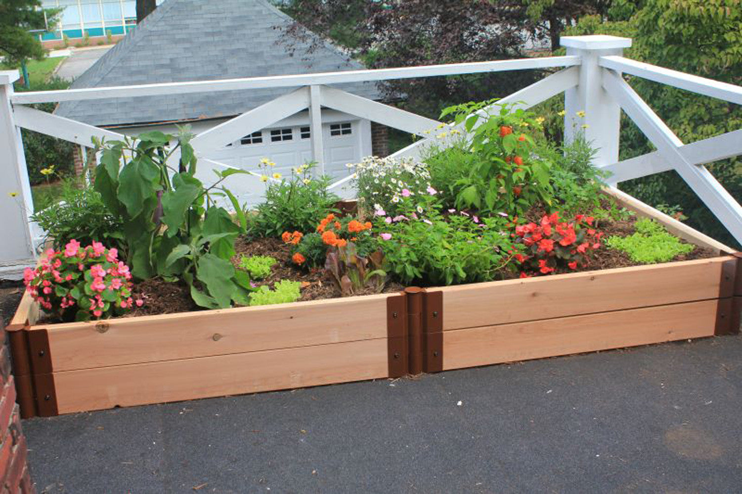 Frame It All Two Inch Series Modular Cedar Raised Garden Bed