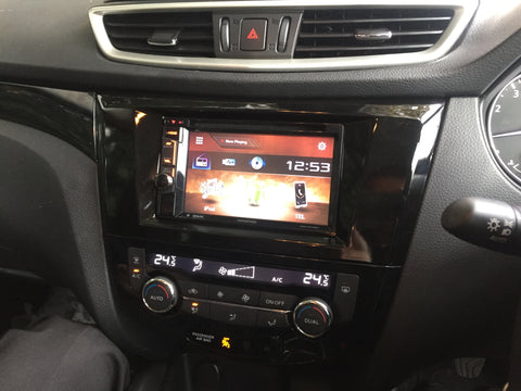 Double din installation