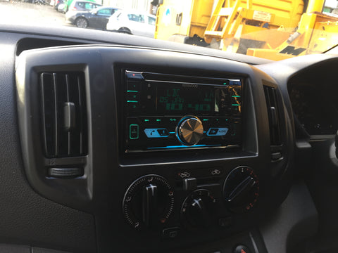 Nissan nv200 Double din installation