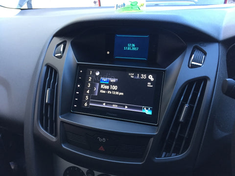 Ford Double din installation