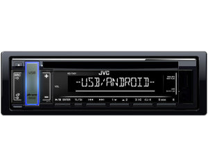 JVC KD T401 USB and Android Car Stereo - SAFE'N'SOUND