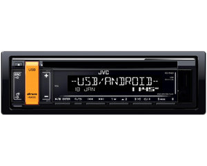 JVC KD R491 Single DIN CD Receiver - SAFE'N'SOUND