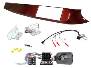 CTKAR02 FULL DOUBLE DIN FITTING KIT FOR ALFA ROMEO  GIULIETTA - 2010 - 2014 - SAFE'N'SOUND