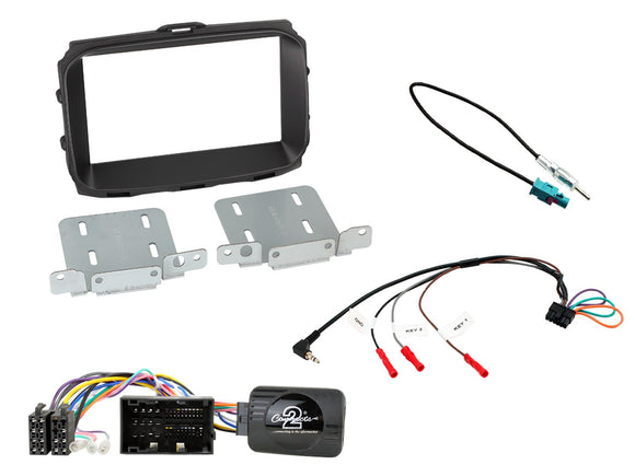 CTKAR08 FULL Double Din FITTING KIT FOR ALFA ROMEO  GIULIETTA - 2014> - SAFE'N'SOUND
