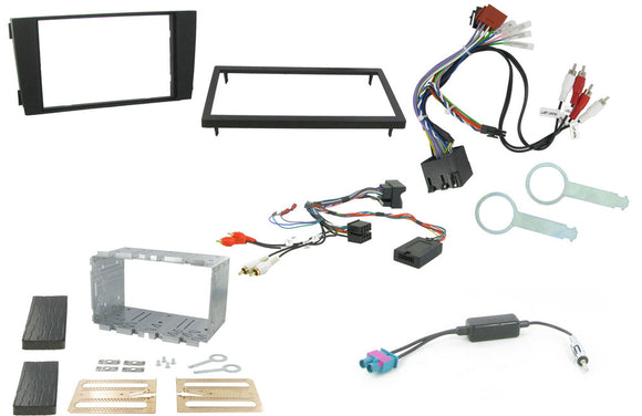 CTKAU05 FULL DOUBLE DIN FITTING KIT FOR AUDI A6 - 2001 - 2004 - SAFE'N'SOUND