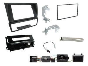 CTKBM13 DOUBLE DIN FULL FITTING KIT FOR BMW 3 SERIES 2005 - 2012  E90/E91/E92/93 (WITH AUTOMATIC AIR CONDITIONING)