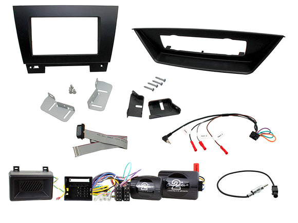 CTKBM24 DOUBLE DIN FULL FITTING KIT BMW  X1 - S009 - 2015 E84 FOR VEHICLES WITH AUTO CLIMATE CONTROL ONLY - SAFE'N'SOUND
