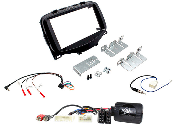 CTKCT02 FULL DOUBLE DIN FITTING KIT FOR CITROEN  C1 - 2014>   Description  Citroen C1 Installation Kit. - SAFE'N'SOUND