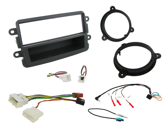 CTKDC04 FULL FITTING KIT FOR DACIA  DUSTER - 2012> - SAFE'N'SOUND