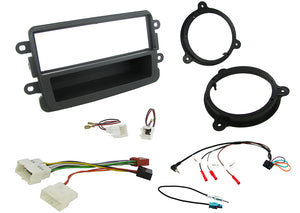 CTKDC02BLK FITTING KIT FOR DACIA with BLACK FACIA  DUSTER - 2012> SANDERO - 2012> - SAFE'N'SOUND