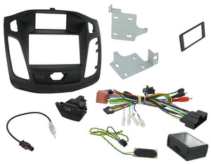CTKFD31C COMPLETE FITTING KIT FOR FORD  FOCUS - 2011 - 2015 VEHICLEA WITH ADVANCED DISPLAY TYPE - SAFE'N'SOUND