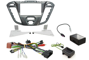 CTKFD43 COMPLETE PEGASUS DOUBLE DIN FITTING KIT FORD TRANSIT CUSTOM 2013> - SAFE'N'SOUND
