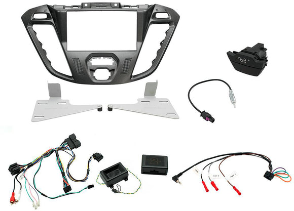 CTKFD43C COMPLETE PEGASUS DOUBLE DIN FITTING KIT FORD TRANSIT CUSTOM - 2012 - 2016 NOT EURO 6 - SAFE'N'SOUND