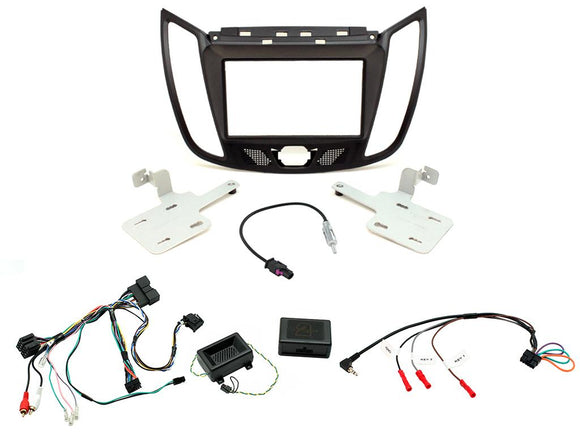 CTKFD44 COMPLETE PEGASUS DOUBLE DIN FITTING KIT FORD KUGA 2013> - SAFE'N'SOUND