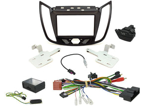 CTKFD44C COMPLETE PEGASUS DOUBLE DIN FITTING KIT FORD KUGA 2013> - SAFE'N'SOUND