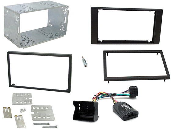 CTKFD47 COMPLETE DOUBLE DIN FITTING KIT FORD C-MAX 2005-2011 FIESTA 2006-2008 FOCUS 2004-2007 FUSION 2005-2007 GALAXY 2006> KUGA 2008> S-MAX 2006> TRANSIT 2006> - SAFE'N'SOUND