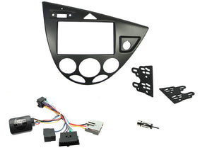 CTKFD58 COMPLETE DOUBLE DIN FITTING KIT FORD FOCUS 1999-2004 - SAFE'N'SOUND