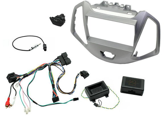 CTKFD62 COMPLETE SILVER DOUBLE DIN FITTING KIT FORD  ECOSPORT - 2013> - SAFE'N'SOUND