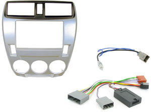 CTKHD03 FULL DOUBLE DIN FITTING KIT FOR HONDA CITY - 2008 - 2013 MANUAL A/C - SAFE'N'SOUND