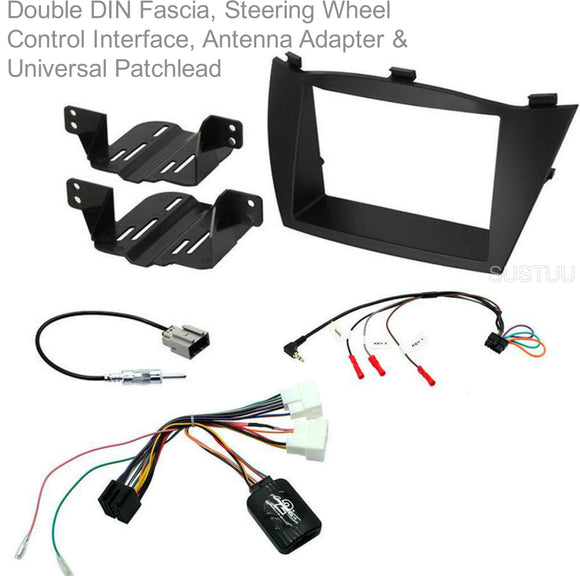 CTKHY18 FULL DOUBLE DIN FITTING KIT FOR  HYUNDAI IX35 - 2014> - SAFE'N'SOUND