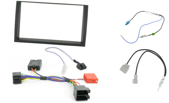 CTKKI16 DOUBLE DIN FACIA KIT KIA VENGA - 2009>  MINI ISO - NO AMP - SAFE'N'SOUND