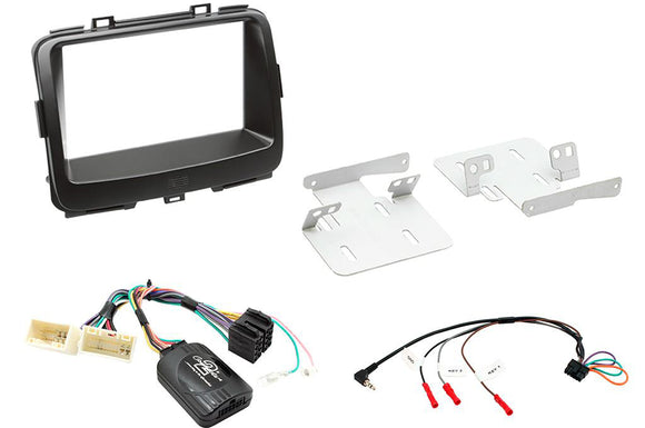CTKKI22 COMPLETE FITTING KIT FITS KIA CARENS - 2013> NON AMPLIFED - SAFE'N'SOUND