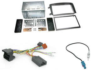CTKMB02 COMPLETE DOUBLE DIN FITTING KIT MERCEDES C CLASS 2004 W203 - SAFE'N'SOUND