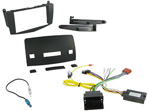 CTKMB04 COMPLETE DOUBLE DIN FITTING KIT MERCEDES C CLASS 2007> W204  Note:W204 model. - SAFE'N'SOUND